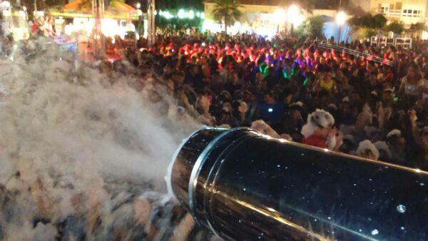 Alquiler Fiesta de la Espuma en MURCIA