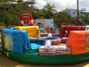 Hinchables Wipeout & Humor Amarillo en LOS RAMOS