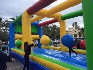 Hinchables Wipeout & Humor Amarillo en CARTAGENA