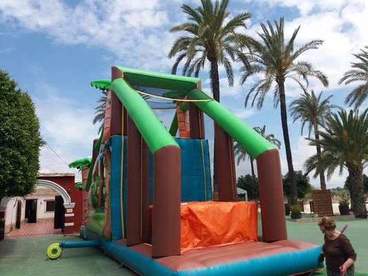 colchoneta wipeout, hinchable salto al vacio Alicante