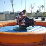 Alquiler Toro Mecánico en LOS ALCAZARES