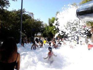 Alquiler Fiesta de la Espuma en PUERTO LUMBRERAS