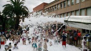 Alquiler Fiesta de la Espuma en FUENTE ALAMO DE MURCIA