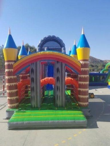 fiestas infantiles en Murcia, alquiler de castillos hinchables.